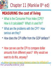 Ch 11 Measuring the Cost of Living.pptx