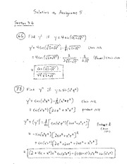 HW 5 - Solutions