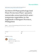 a_Pedroche et al 2013 Archives of Phytopathology and Plant Protection.pdf