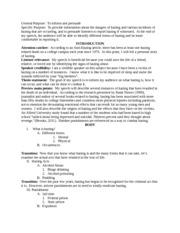 Fraternity hazing essay