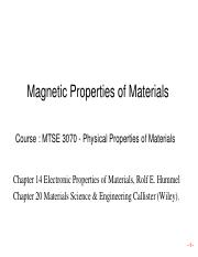 8. Chapter_14_basic concept of magnetism_part1