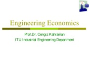Engineering Economics-ıı