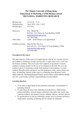 MKTG3010A course outline_Fall 2015