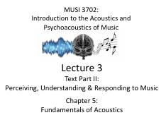 Lecture 3 - MUSI 3702 (updated)
