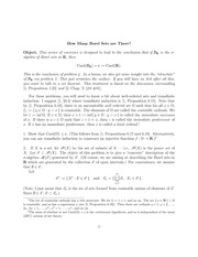 Worksheet on Borel Sets