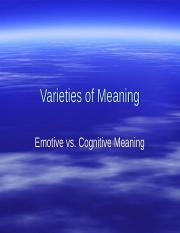 Varieties of Meaning.pps