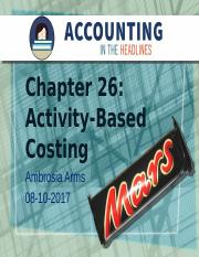 Chapter 26 Cost Allocation and Activity Based Costing.pptx