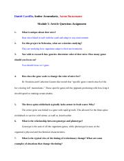 Article 5 Questions Assignment.docx