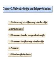 Chapter 2_MW Polymers
