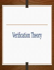 Verification Theory.pptx