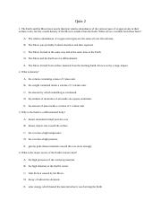Quiz 2 and answers