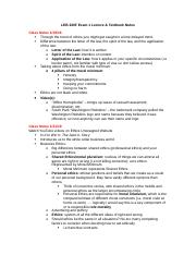 LEB 320F Exam 1 Study Guide