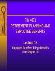 Lecture 13 - Employee benefit Firnge benefits (1).pptx