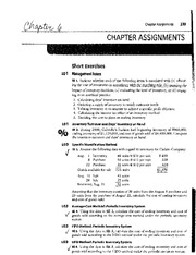 ACCT Assignments Chapter 6