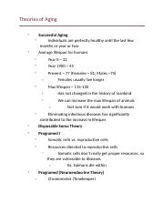Theories of Aging.docx