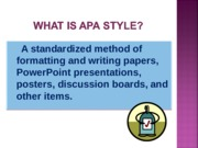 APA powerpoint for students