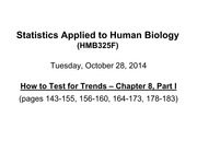 Chapter 8 - How to Test for Trends - Part I - 1 per page - Oct 28 2014