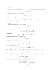 Differential Equations Lecture Work Solutions 19