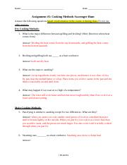 Culinary Arts_Assignment 5_Cooking Methods Scavenger Hunt (1).docx