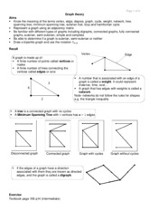 D1 HANDOUT Graph theory GH