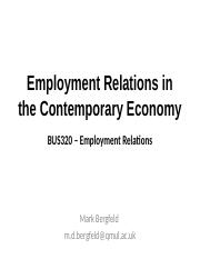 Employment Relations in the Contemporary Economy_MArk Bergfeld.pptx