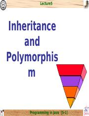 chap5_Inheritance and Polymorphism