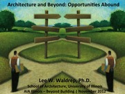 #18 Architecture and Beyond 102413