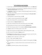 CIT 12 CHAPTER 3 QUIZ ANSWERS.docx