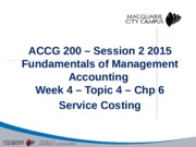 Week 4_201502_Service Costing_Solutions