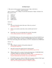 160:162 Mock Exam 1 Solutions