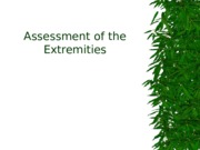 Assessment of the Extremities.ppt