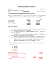 MGT426 Fall 2012 Quiz 2 - Version 3 & 4 - Solution (1)