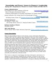 Oliver.REVISED.SP17.Knowledge and Power Syllabus.17.docx