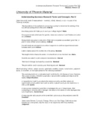 res351 r1 understanding business research terms  understanding business research terms and concepts: part 2 ngoc le res351 april 8, 2015 william khoepfer understanding business research terms and.