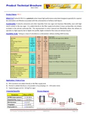 Carbo UA FRS-3 Product Technical Brochure