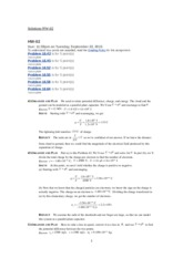 Solutions HW-02 1202 Fall 2015