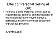 customer relationship of kfc 2012/02/24  kfc is using social media to give away hundreds of gift certificates to facebook fans and twitter followers  the communications are largely entertaining and used to encourage participation from its customer with a dash of.