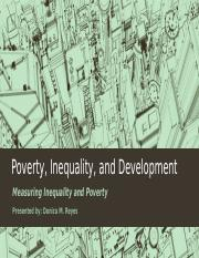 Poverty, Inequality, and Development 2