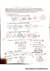 Math for Decision Making with Tech Midterm 2 Graded