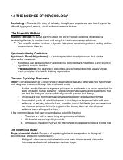 FULL SET PSYC 1000 NOTES
