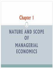 1-introduction of managerial economics