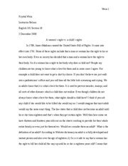 eng comp I final essay