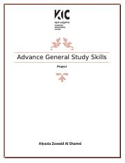 Project Advance General Study Skills.docx