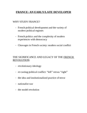France Lectures