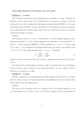 CHEM 3322 Homework 4 and Solutions