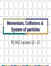 Wang Qinghai-L13-15 Momentum and collisions.ppt