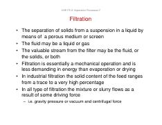 Slides of Filtration