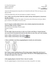 Algebra 1 Unit 3 Teacher-Scored Unit Test 3.5.4.....docx