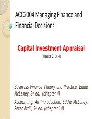 2-4-Capital Investment Appraisal.pptx