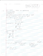 Intensive Math Chapter 1 Notes